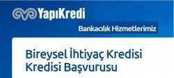Yapı Kredi İhtiyaç Kredisi