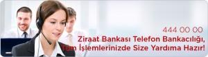 Ziraat Bankası Telefon Bankacılığı