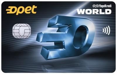 Yapı kredi bankası opet worldcard ile akaryakıt hediye indirimi. Opet ile worldcard