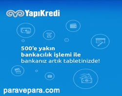 Yapı Kredi Android tablet uygulaması, yapı kredi tablet uygulaması