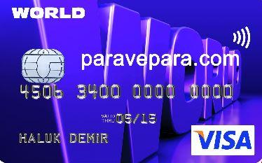 yapı kredi bankası world kart