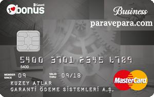 Bonus Business, Garanti Bankası Bonus Business Ticari Kredi Kartı Başvurusu
