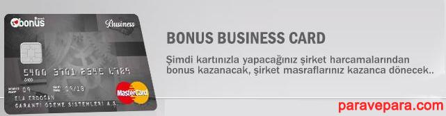 Bonus Business Kredi Kartı Kampanya Detayları