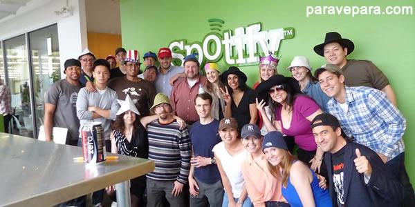 Spotify Company ( Spotify Şirketi )