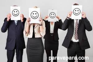 mutlu işçiler